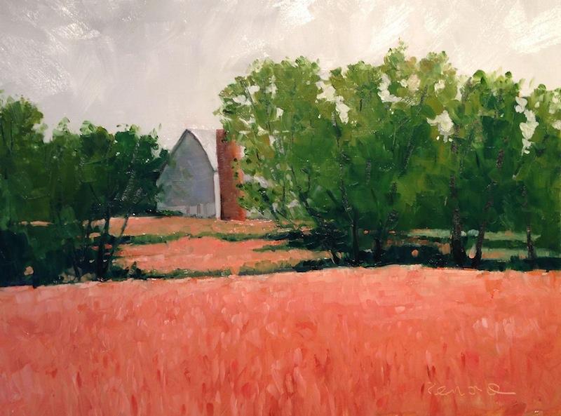 Reinard Lighted farm Fields